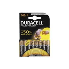 Duracell AAA batterier - Plus Power AAA Special Offer