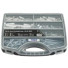 NKT Fasteners Sortimentskasse - SPUN®+ UH, PRO6 280 stk. +120 plugs