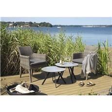 Outrium Havemøbelsæt - Cannes/Sydney 2 stole kubo