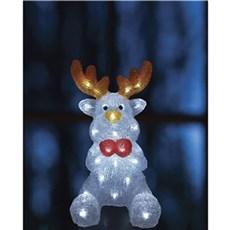 VELI LINE Julebelysning ude - Akryl Rudolp Rensdyr