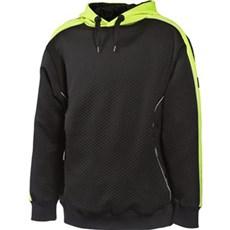 MASCOT® Sweatshirt - MOTRIL STR: L SORT/HI-VIS GUL