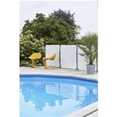 Plus Hegn nem vedligehold - Windbreaker Hvid polyester 90x93 cm