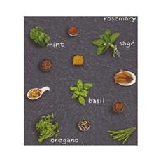 Rasch Tapet - Krydderurter Mørk Bund