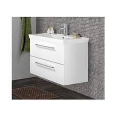 Scanbad Badeværelsessæt - LOTTO xl m/vask - Hvid højglans