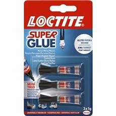 Loctite Hobbylim og speciallim - SUPER GLUE MINI TRIO 3G