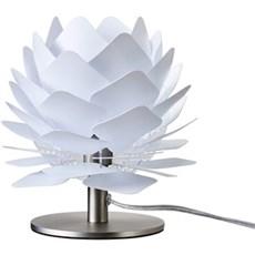 DybergLarsen Bordlampe - Round Square XS Lav, Hvid, 18x22 cm