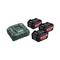 Metabo Batteri - BATTERISÆT  3 X 18V 5,2 AH