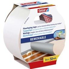 Tesa® Dobbeltklæbende tape - Aftagelig tæppetape 5Mx50MM
