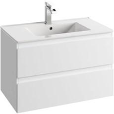milobad Badeværelsessæt - Vedbæk 80 hvid