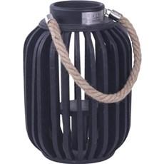 TP Lanterne - Santorini lanterne sort