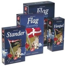 Dano mast Dannebrog - flag t/10 mtr 275x108cm