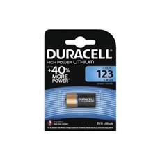 Duracell Special batterier - Ultra Photo 123 1pk