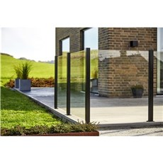 Skagen Hegn nem vedligehold - Klar glas - eksklusiv stolper