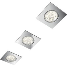 Philips Spotlampe - DREAMINESS RECESSED 3-SPOTS - KROM