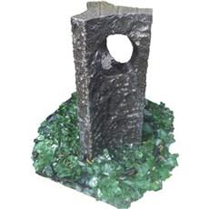 P&N Vandsten - MANILA sort granit m/pumpe 55 cm