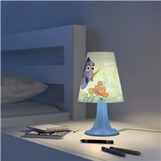 Philips Børnelampe - Disney Finding Dory bordlampe