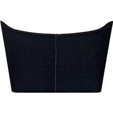 Varde Ovne Brændekurv - kurv i mørk polyester, stor
