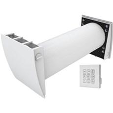 Duka Ventilation - D6 Ø160MM 1-RUMS VARMEGENVINDING HVID