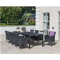 Outrium Havemøbelsæt - Toscana 8 stole