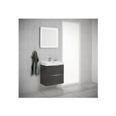 Scanbad Badeværelsessæt - SCANBAD SAMBA 60 CM. - SORT/BRUN