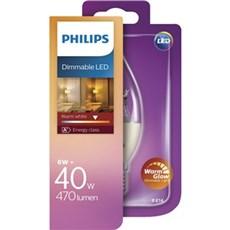 Philips LED - LED 40W BA38 E14 WW CL WGD 1BC/4