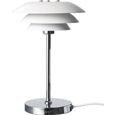 DybergLarsen Bordlampe - DL20 hvid