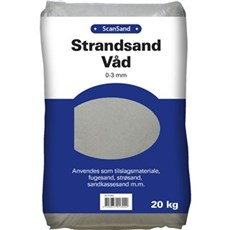 Scan Sand - Scansand 0-3mm 20 kg