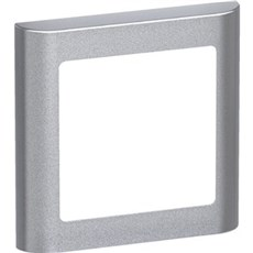 LK FUGA® Ramme - SOFT designramme 1M stålmetalic
