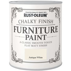 Rust-Oleum Metal- og Træmaling - Chalky finish Furniture 750 ml