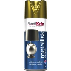 Plasti kote Spraymaling - Brilliant Metallic, 400ML Guld