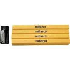 Millarco Tømrerblyant - 12 STK. INKL. BLYANTSPIDSER