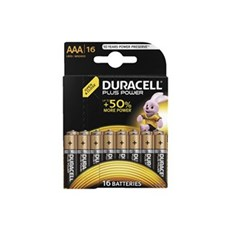 Duracell AAA batterier - Plus Power AAA