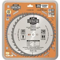 CMT Rundsavklinge - Contractor 305X30 MM