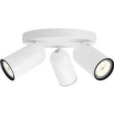 Philips V�glampe - PONGEE plate/spiral white 3x4.6W