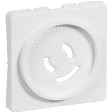 LK FUGA® Baldakin - Afdækning til lampestikkontakt 1 modul Hvid