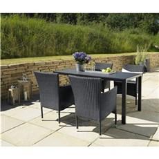Outrium Havemøbelsæt - Toscana 4 stole