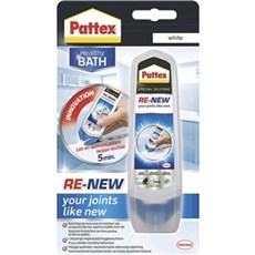 Pattex Silicone - Re-new silikoneopfrisker - Hvid