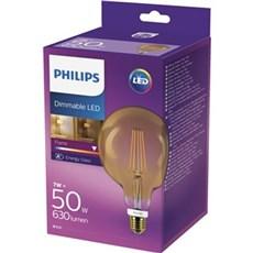 Philips LED - LEDClassic 50W G120 E27 2200K GOLD D