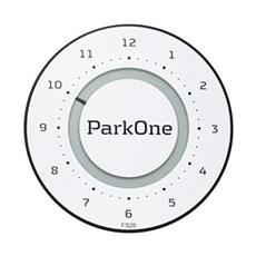ParkOne P-skive - Parkone 2 - ALPINE WHITE