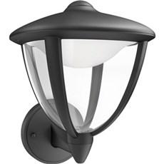 Philips Væglampe - ROBIN SORT - OP H24 CM
