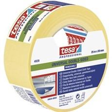 Tesa® Dobbeltklæbende tape - Universal aftagelig tape hvid 25Mx50MM