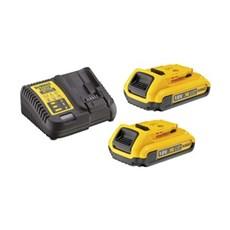 Dewalt Batteri - DCB115D2 18V 2x2,0Ah Batteris�t