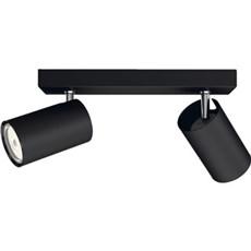 Philips Væglampe - KOSIPO bar/tube black 2xNW