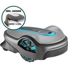 Gardena Robotplæneklipper - SILENO LIFE 800M2 + Garage