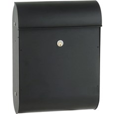 Mefa Postkasse - Quartz 825, sort struktur