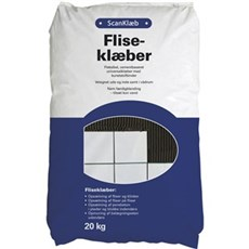 Scan Fliseklæb - Scan fliseklæb 20 kg