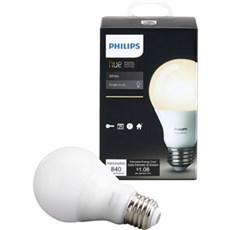 Philips LED - HUE WHITE PÆRE - E27 / 9,5W