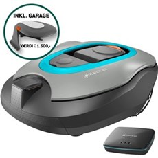 Gardena Robotplæneklipper - smart sileno +1600 + Garage