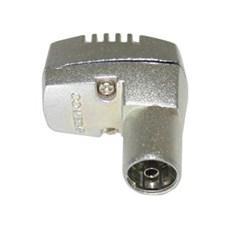 Jo-el Antennestik - hunstik vinklet IEC Coax metal