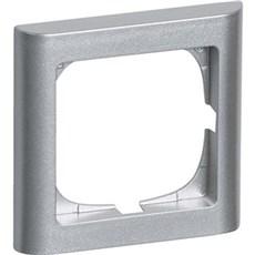 LK FUGA® Ramme - SOFTLINE 63 ramme 1 modul Stålmetallic